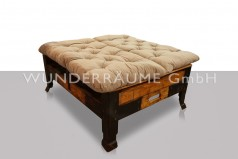 "Loungebank Holz ""Industrial"""