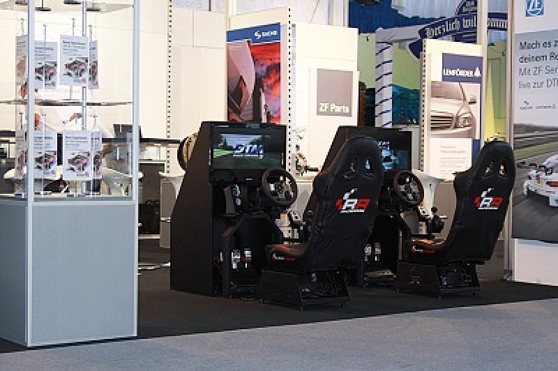 race seat fahrsimulator formel 1 dtm 1 sitz. Black Bedroom Furniture Sets. Home Design Ideas