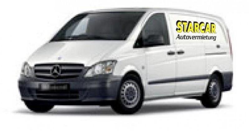 Mercedes Benz Vito (Beispielfahrzeuge Gr. 2) Ladefläche (m) (ca. 2,20x 1,70 x 1,40)
