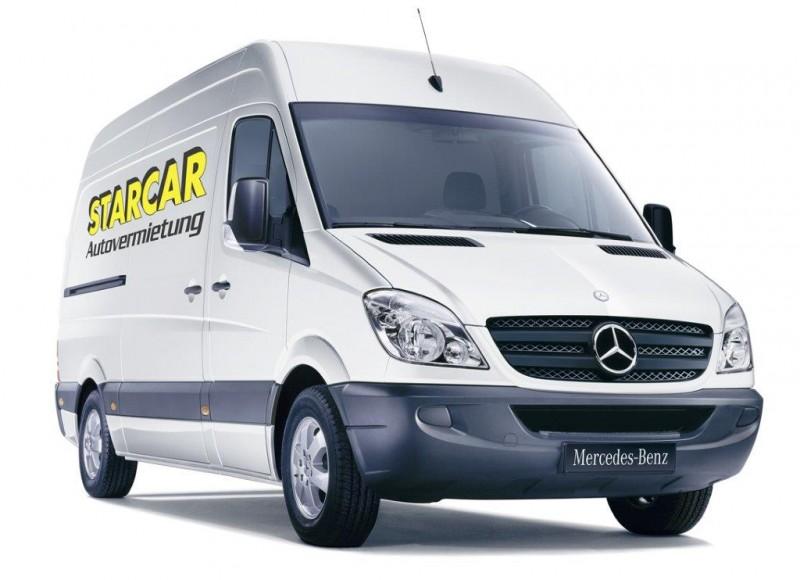 Transporter: Mercedes Benz Sprinter (Beispielfahrzeuge Gr. 4)