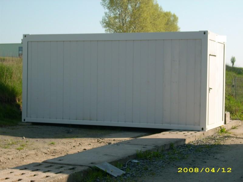 b rocontainer aufenthaltscontainer wohncontainer 20 ft und. Black Bedroom Furniture Sets. Home Design Ideas