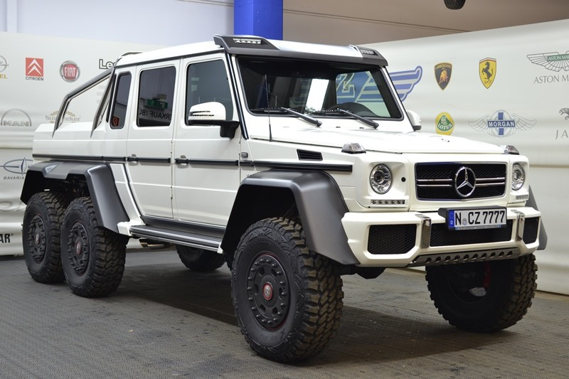 mercedes g 63 amg 6x6 gel ndewagen pick up standort. Black Bedroom Furniture Sets. Home Design Ideas