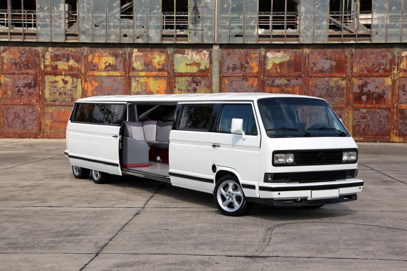 vw t3 stretchlimousine superstretch bus limo vip limousine. Black Bedroom Furniture Sets. Home Design Ideas