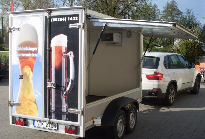 Kühlhänger, Kühlanhänger, Kühlwagen, Monatsmietpreis 450,00€. Gerne ...