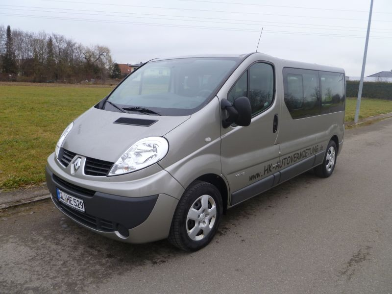 renault trafic 9 sitzer bus kleinbus. Black Bedroom Furniture Sets. Home Design Ideas
