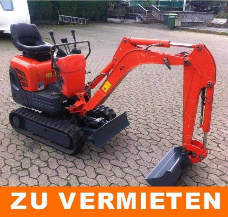 Ganz und zu Extrem Minibagger Kubota K 008-3 / Minibagger 850kg @TB_19