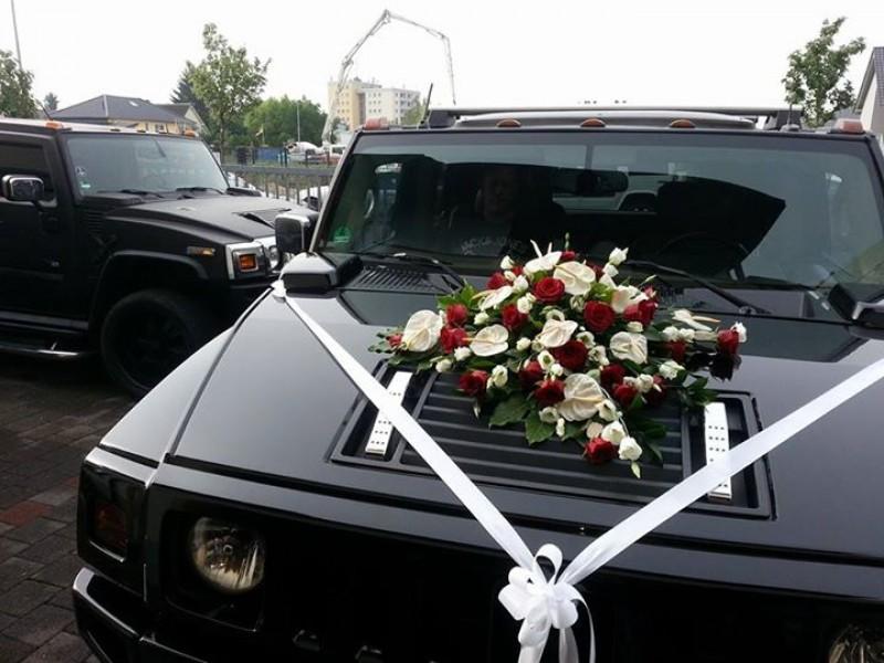 Hummer h mieten in weiß oder schwarz zum selber fahren