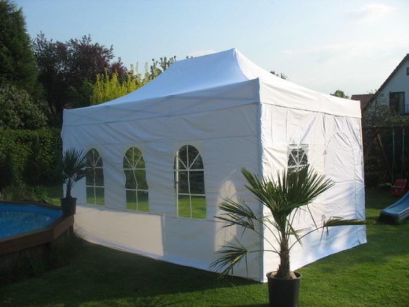 miete 8 zahle 6 hell beiges partyzelt faltzelt in 6x3 meter lieferung abholung m glich. Black Bedroom Furniture Sets. Home Design Ideas