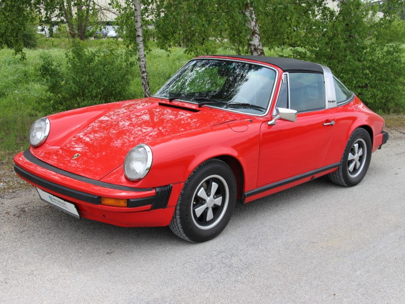 porsche 911 2 7 targa oder 3 2 carrera cabrio in rot mieten. Black Bedroom Furniture Sets. Home Design Ideas