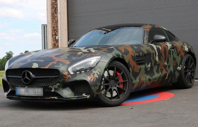 mercedes amg gt s camouflage 510 ps 2016 sportwagen. Black Bedroom Furniture Sets. Home Design Ideas