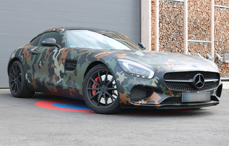mercedes amg gt s camouflage 510 ps 2016 sportwagen hochzeitswagen freizeitwagen. Black Bedroom Furniture Sets. Home Design Ideas