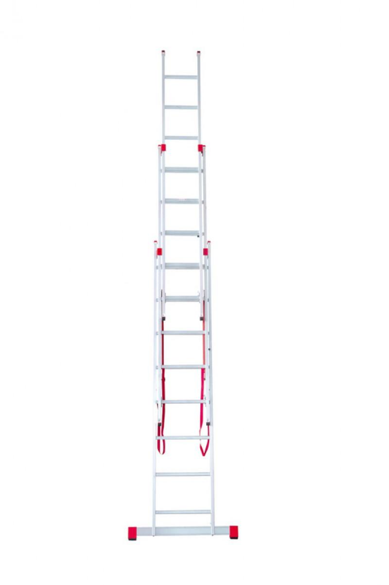 Hervorragend ALU-Allzweckleiter 3 x 10 Stufen (Leiter/ Anlegeleiter/ Stehleiter  MY95