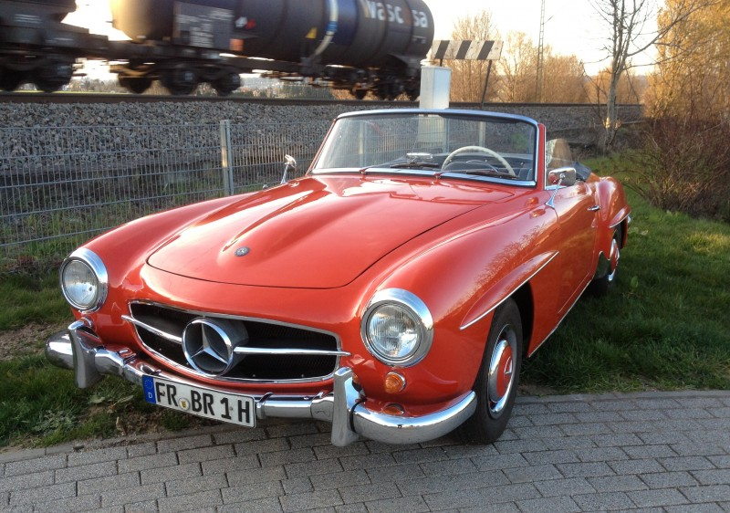 Classic Cars Mercedes Coupe