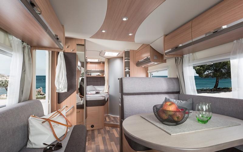 luxus wohnmobil knaus 650 sky wave mf mit tv sat. Black Bedroom Furniture Sets. Home Design Ideas