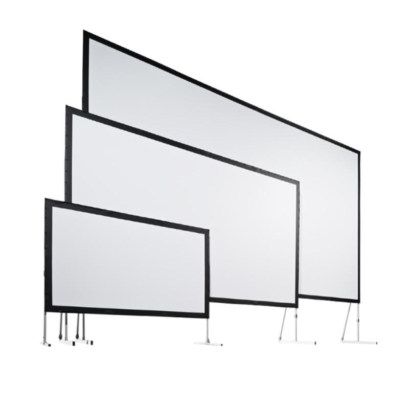 leinwand f r beamer bildwand gro leinwand aufprojektion. Black Bedroom Furniture Sets. Home Design Ideas
