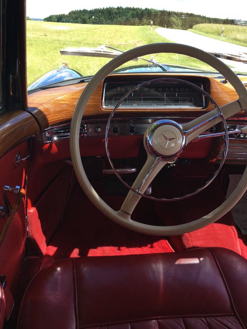Oldtimer hochzeitswagen se ponton coupé zum selber