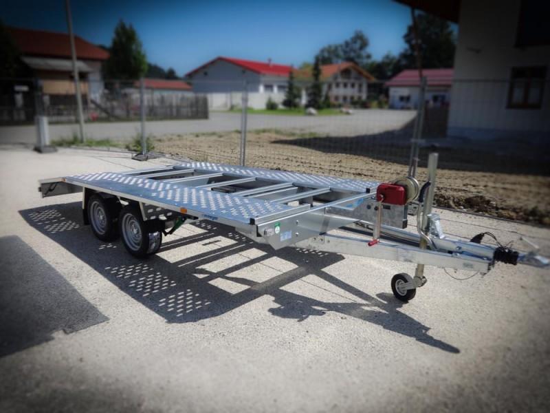 fahrzeugtransporter autotransporter kfz transporter anh nger kg. Black Bedroom Furniture Sets. Home Design Ideas