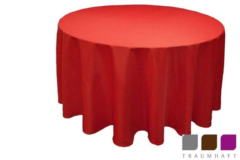 tischdecken rund mieten 280 cm oder 305 cm top qualit t handgeb gelt hochzeit events. Black Bedroom Furniture Sets. Home Design Ideas