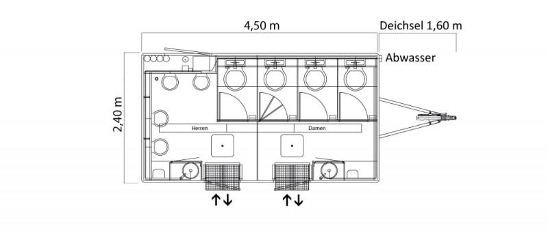 wc460 toilettenwagen toilettenanh nger klowagen. Black Bedroom Furniture Sets. Home Design Ideas