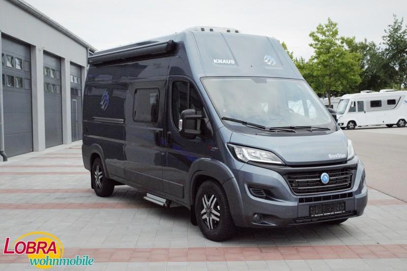 kastenwagen knaus boxstar solution 600 wohnmobil f r 4. Black Bedroom Furniture Sets. Home Design Ideas