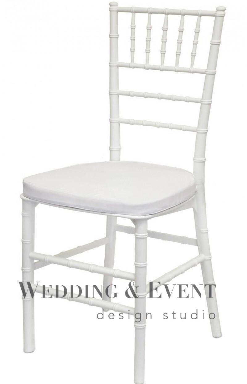 Chiavari Tiffany Stuhl Weiss Inkl Sitzkissen Hochzeits Stuhle