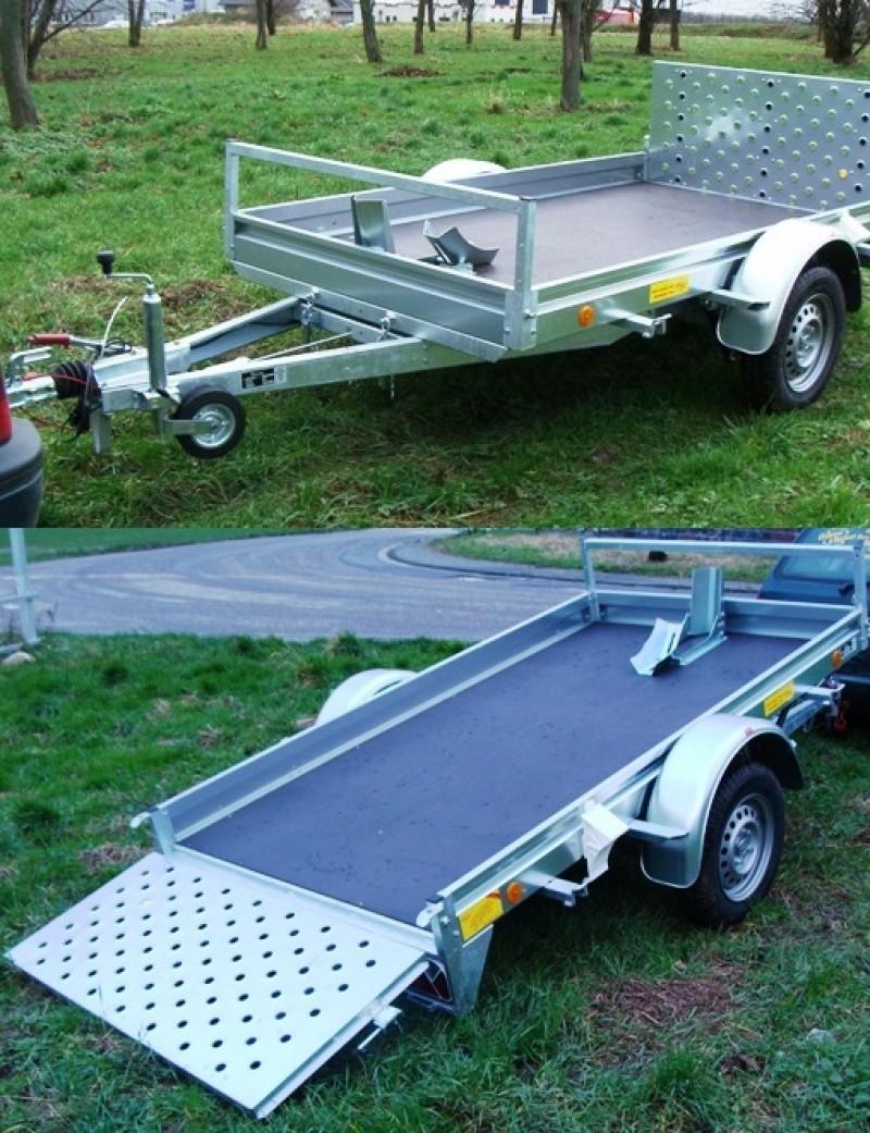 1er motorradanh nger kippbar mit rampe 100 km h 2510 x 1350. Black Bedroom Furniture Sets. Home Design Ideas