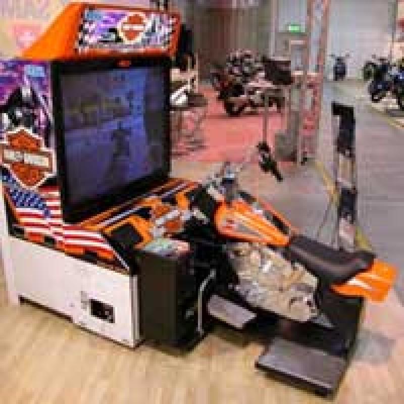 Motorradsimulator