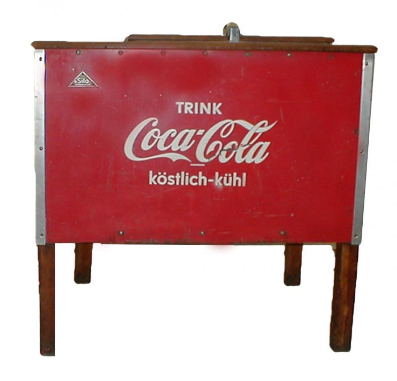 Kühltruhe Coca Cola,Getränke, Kühlschrank, Nostalgisch