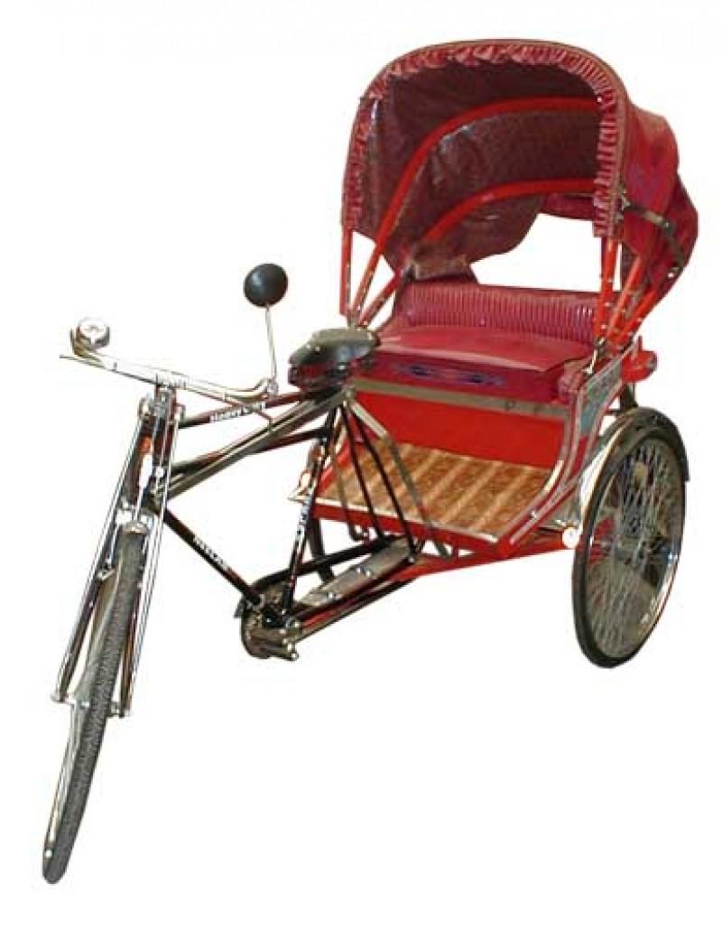 Asiatische Deko rikscha original asien china fahrrad