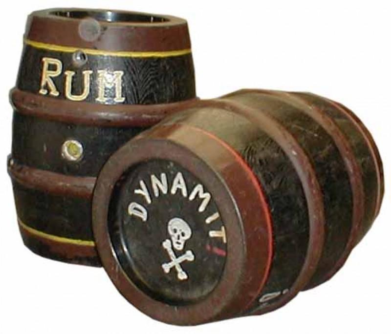 Rum Fass Piraten Karibik Getr Nk Alkohol