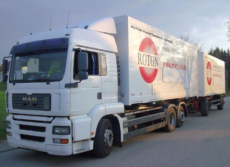 Usv Roton Mobile Usv Powerstation Outdoor 400 Kva