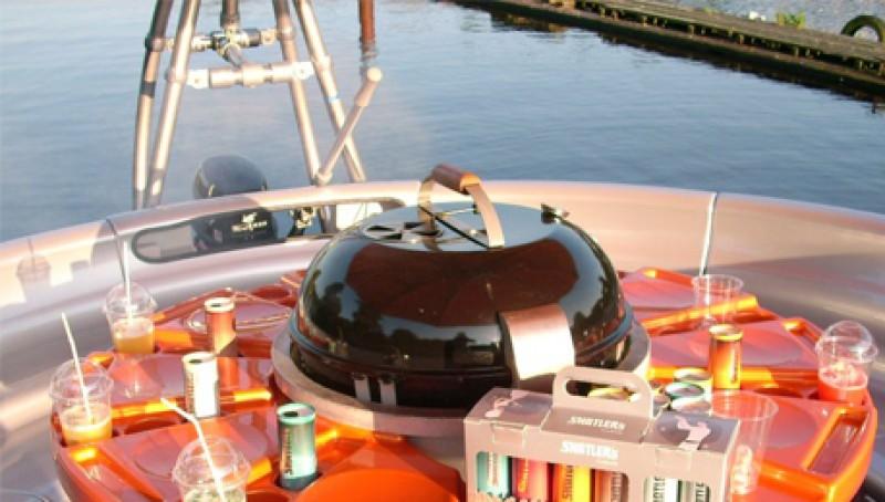 Fahrt mit dem bbq-Donut® Wilhelmshaven