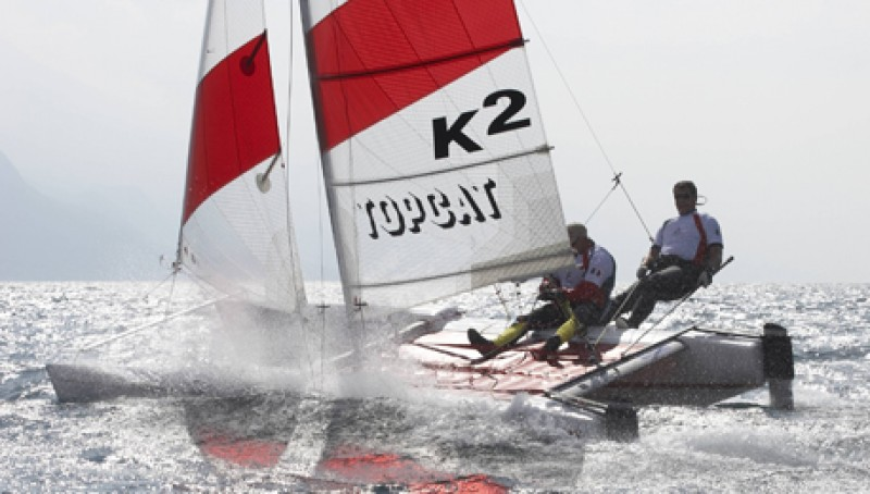 Katamaran segeln sport  Katamaran Segelkurs bei Kiel