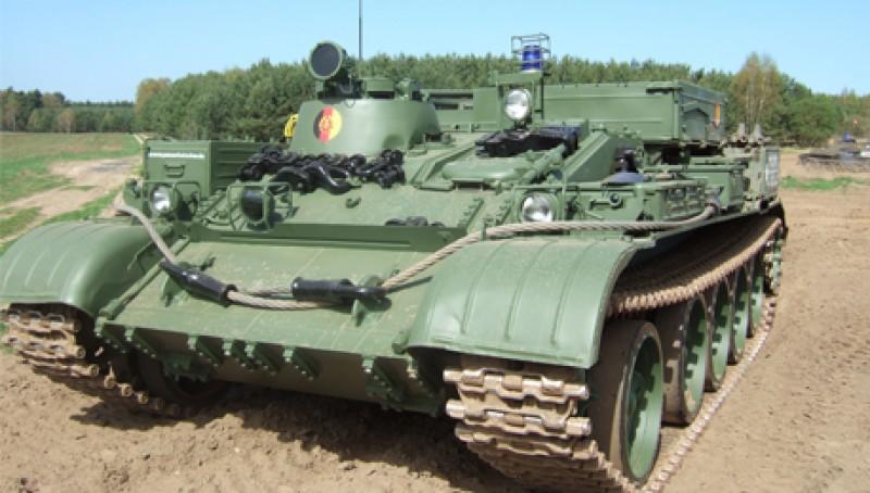 panzer fahren im bergepanzer t55 f rstenwalde. Black Bedroom Furniture Sets. Home Design Ideas